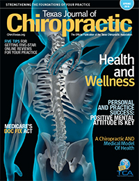 Texas Journal of Chiropractic - Medicare's Doc Fix Act Article